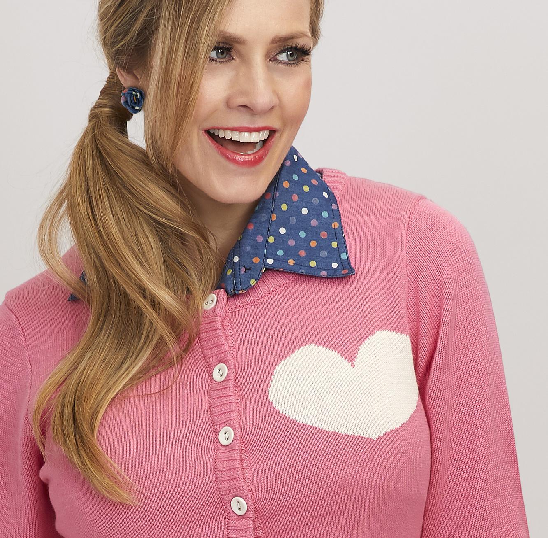 Tant Sofia-Bubblegum Pink kofta, Margot