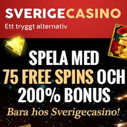 Snurr gratis hos SverigeCasino