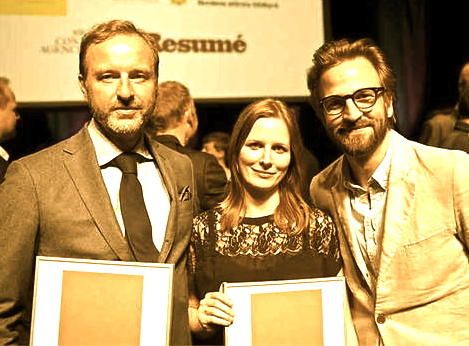 Christopher Östlund , Jessica Ericsson och Konrad Olsson