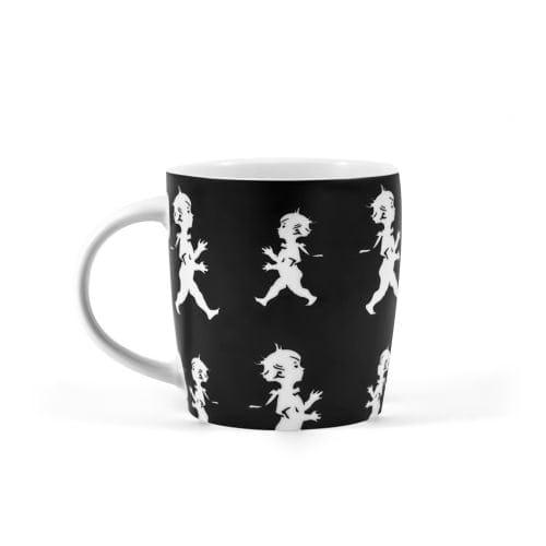 Kaffekopp från Solstickan svart