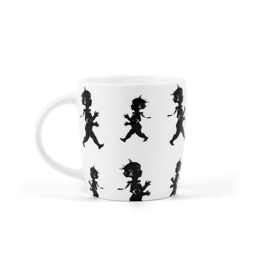 Kaffekopp från Solstickan vit