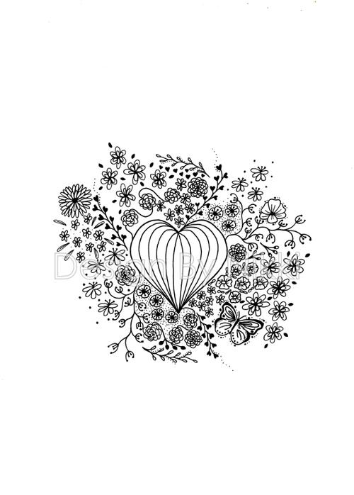 Poster Love in bloom