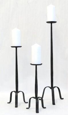 Ljusstake/Candle Holder - 3-fot/Tripod - 33 cm Golvljusstake/Floor Candleholder