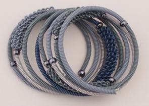 Armband Blues L