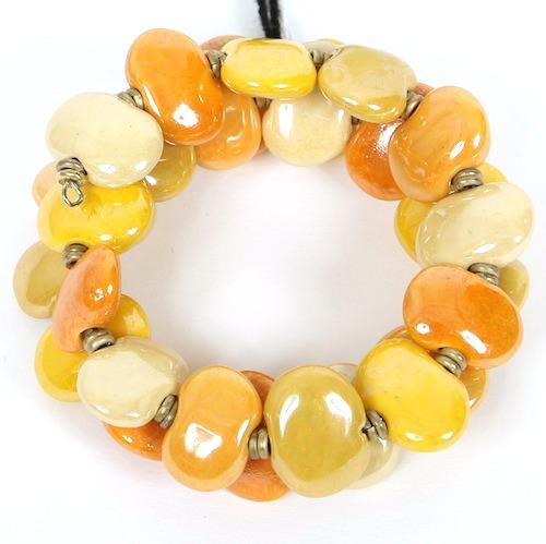 Bracelets Flat - Yellow Mix