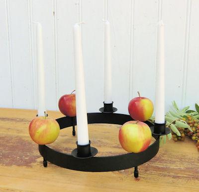 Ljusstake/Candle Holder - Bordsring & dekorationer/Tablering & decorations - Bordsring/Tablering - Svart/Black