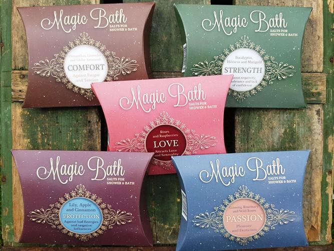 Magic Bath Mineralsalter för Bad & Dusch