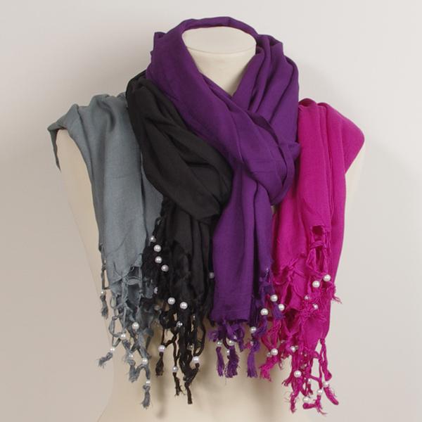 pärlsjal-rosa-lila-svart-grå-sjal-Folk-Nepal-Fair-Monkey-Fair-Trade-bomull-8