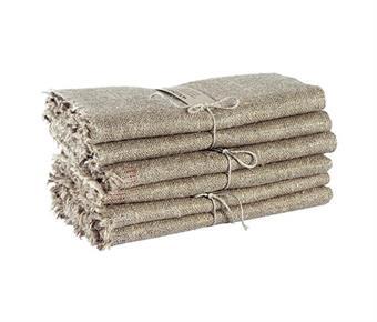 Handduk/Towel - Säckväv/Burlap 2-pack - Säckväv/Burlap 50x70 cm: Natur/Nature