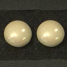 Örhängen/Earrings - Örhängen/Earrings: Satin Cream m.o.p.
