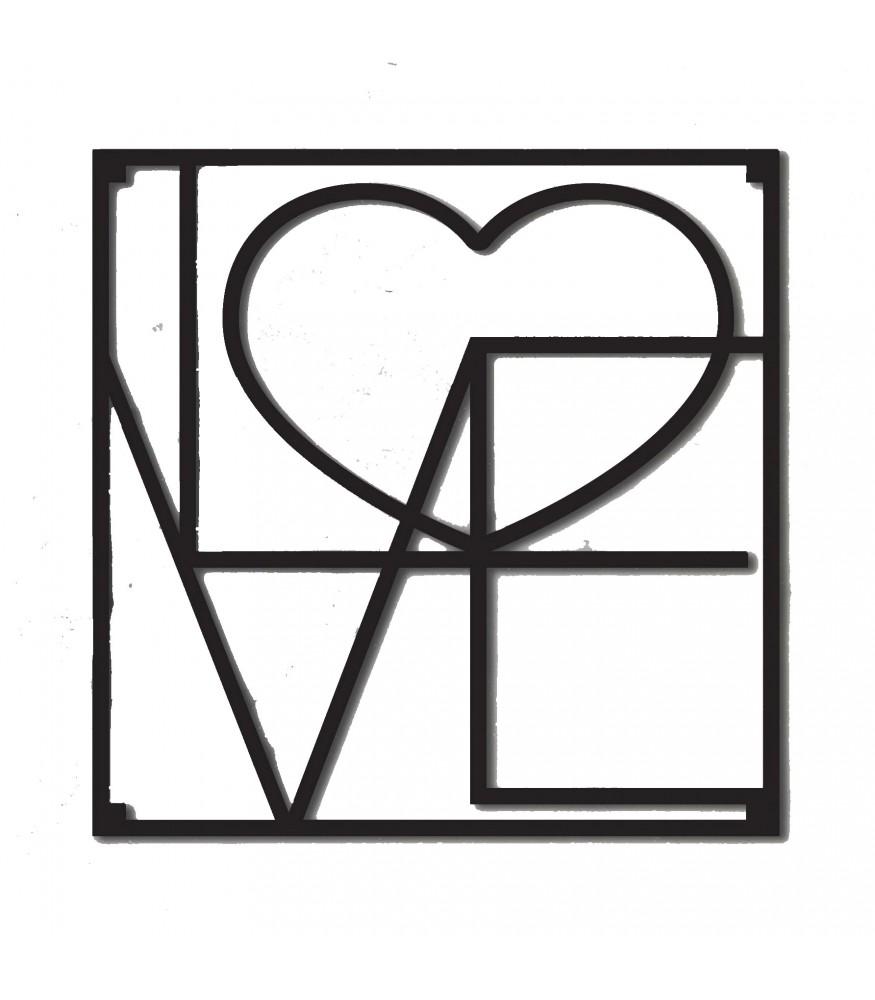 Karottunderlägg Love Heart
