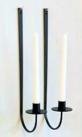 Ljusstake/Candle Holder - Spira Lampett/Spira Sconce - Lampett Spira/Sconce Spira