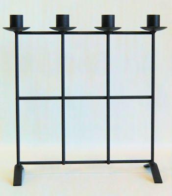 Ljusstake/Candle Holder - Adventsstake Galler/Advent Holder Grid - Adventsstake Galler/Advent Holder Grid