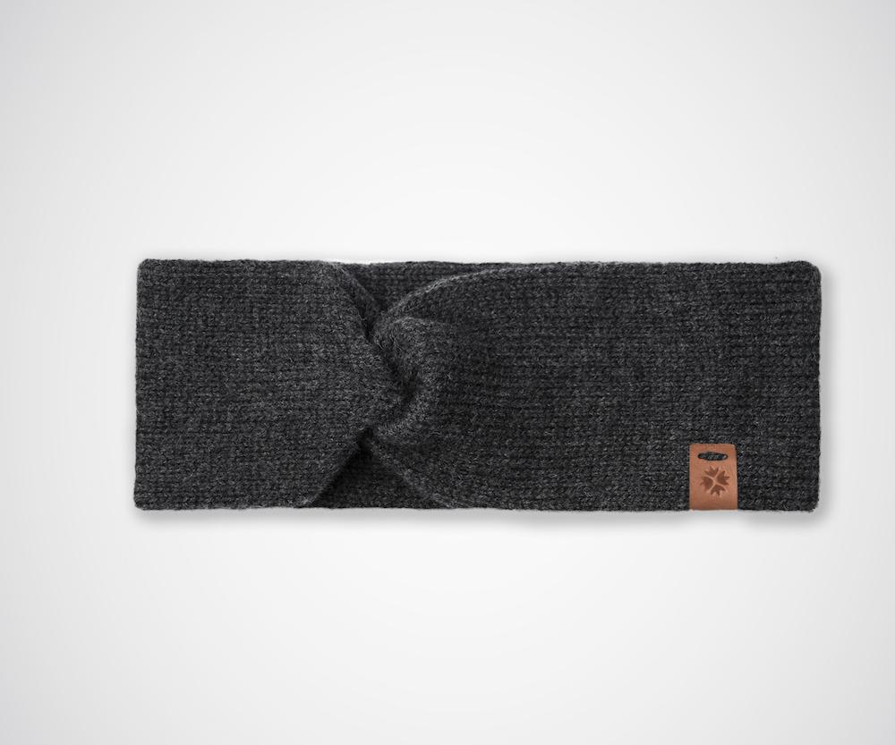 Märit Pannband Charcoal Grey