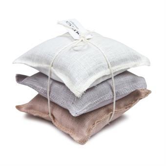 Lavendelkuddar/Lavendel bags - Lavendelkudde/Lavendel bag: Struktur Ljus/Structure Light