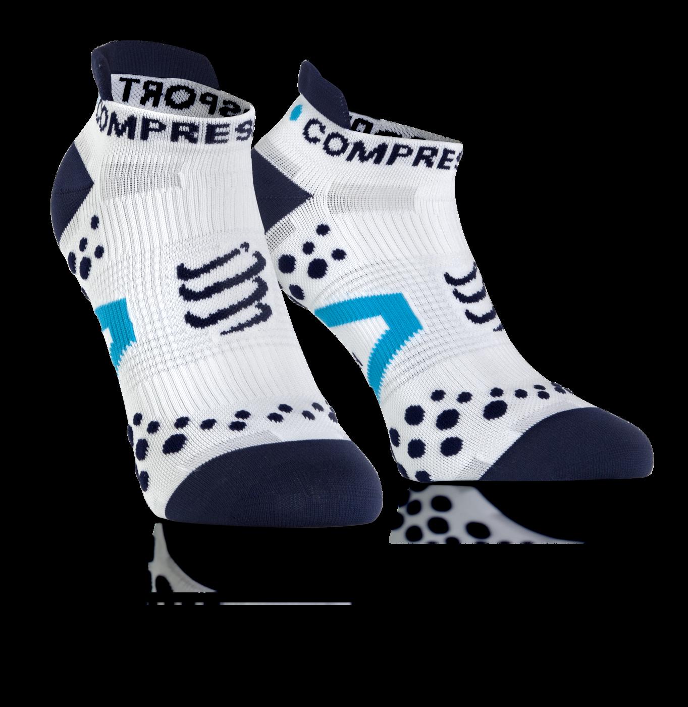 ProRacing Socks V2_1-RUN LOW-White-Blue