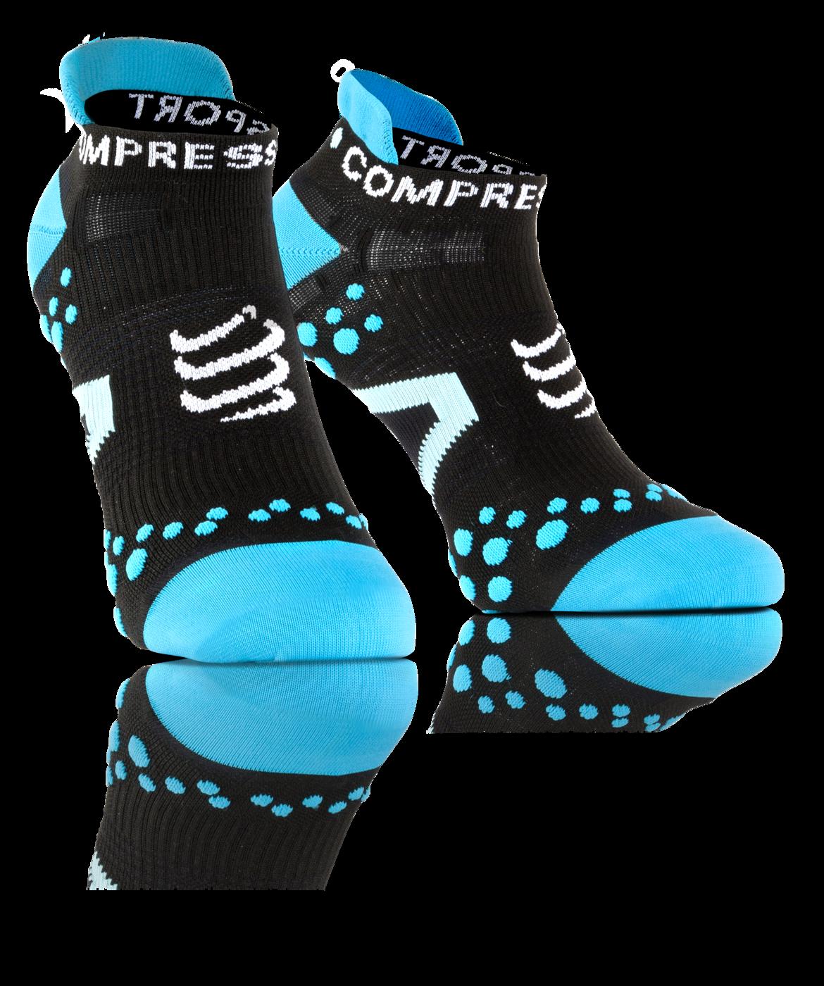 ProRacing Socks V2_1-RUN LOW-Black-Blue