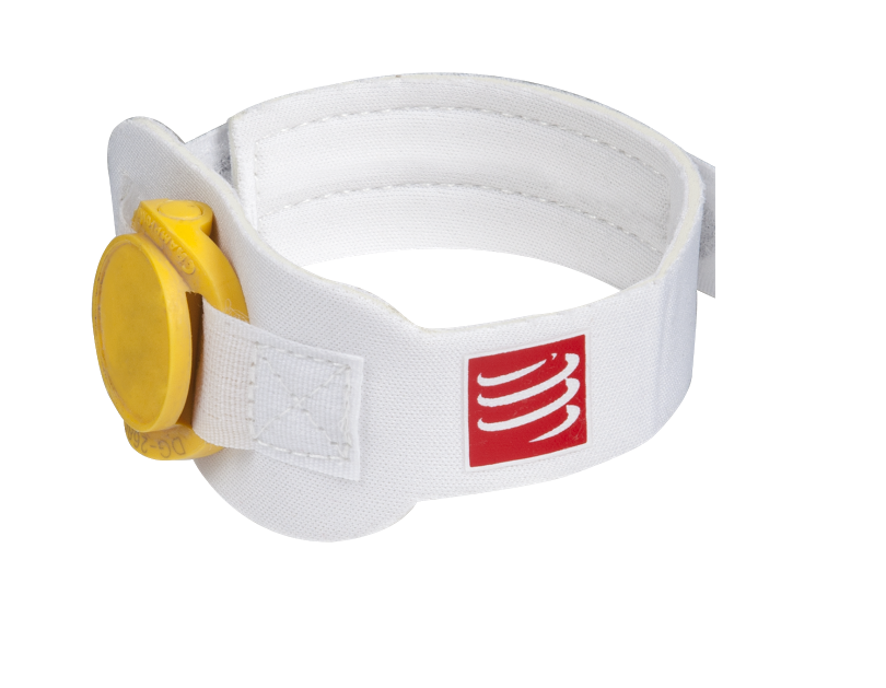 Timing Chip Strap - White