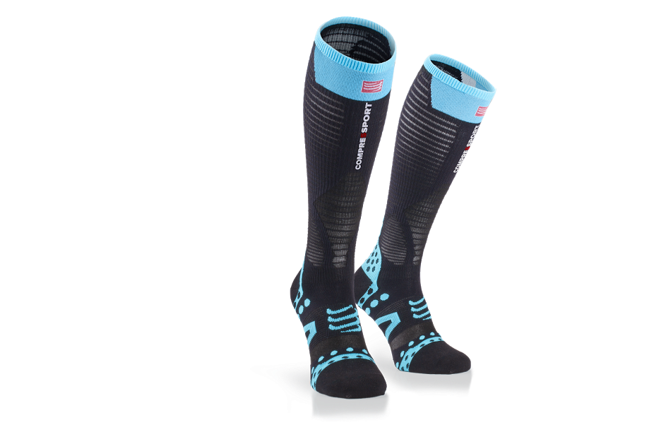 Full Socks UltraLight Racing Black - Pair_2