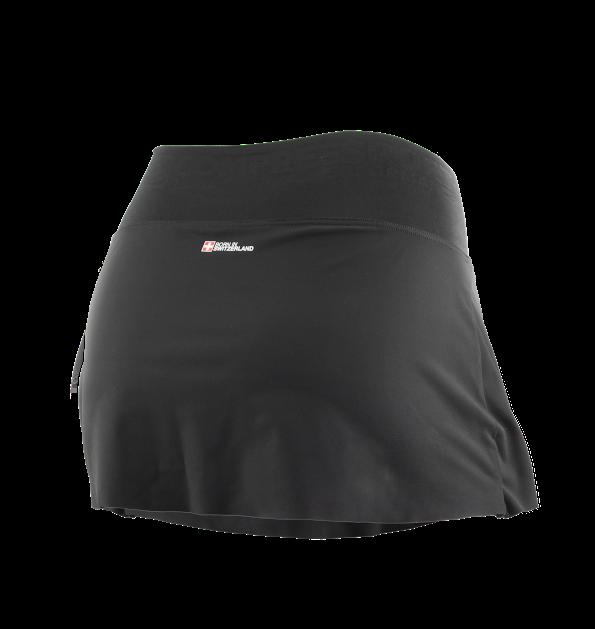 Racing Overskirt W BLACK - backside