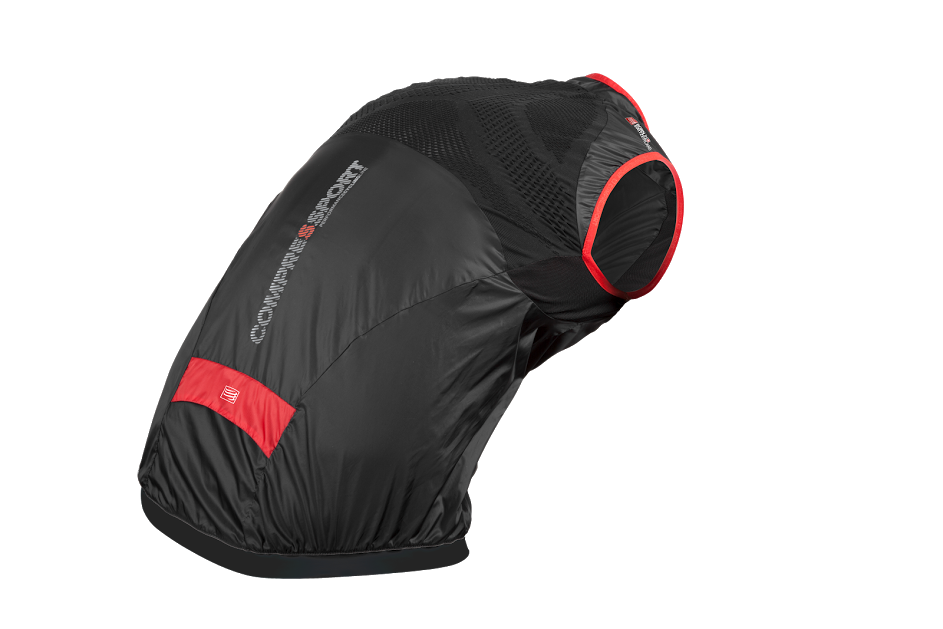 Cycling WindVest BLACK - postural