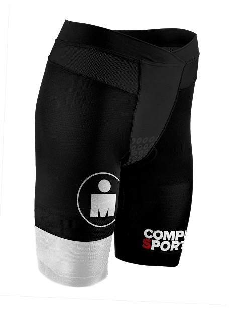 Kopia av TR3 Brutal Tri Compression Short W - Ironman Stripes BlackWhite