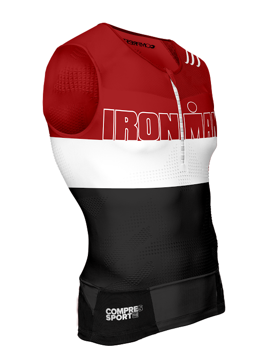 2TR3 Tank Top - Ironman Stripes Red
