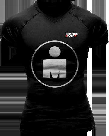 Running Tshirt - Ironman Mdot Black