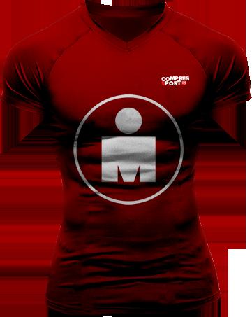 Running Tshirt - Ironman Mdot Red