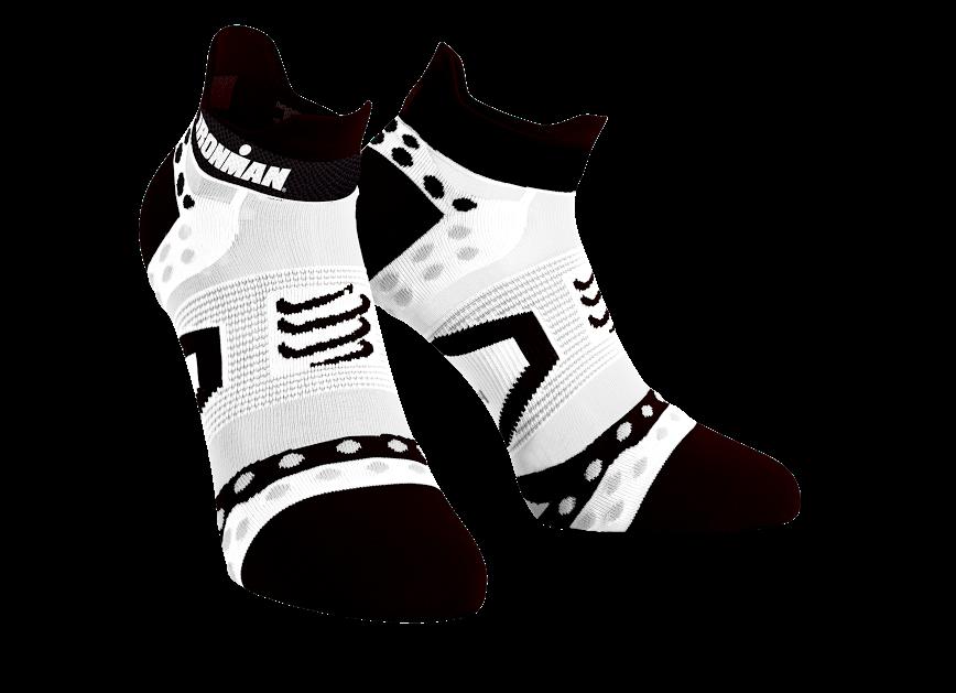 ProRacing Socks V2.1 UltraLight Run Low - Ironman MDot White