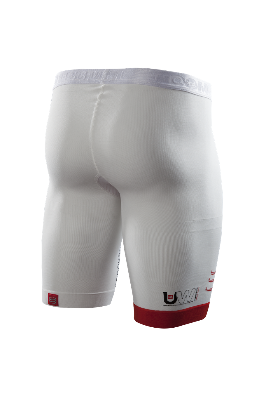 UW Trail Running Short White 03