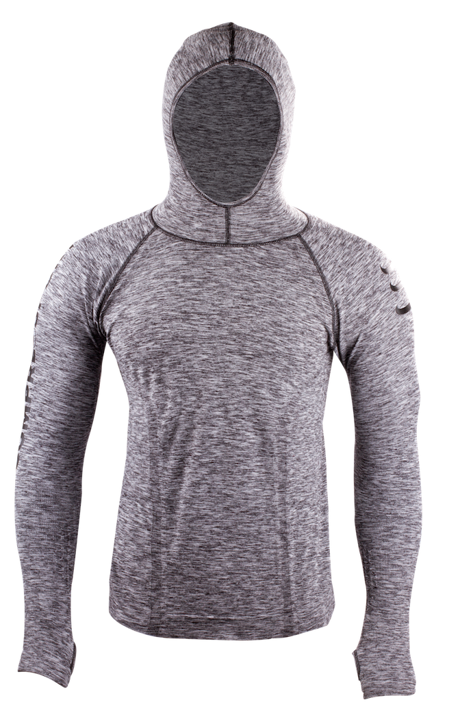 3D Thermo Hoodie Seamless - front kopia