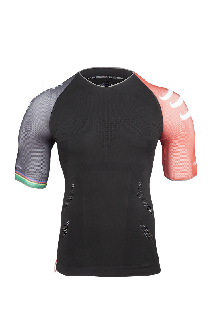 Pro Racing Triathlon Shirt Black 02 kopia