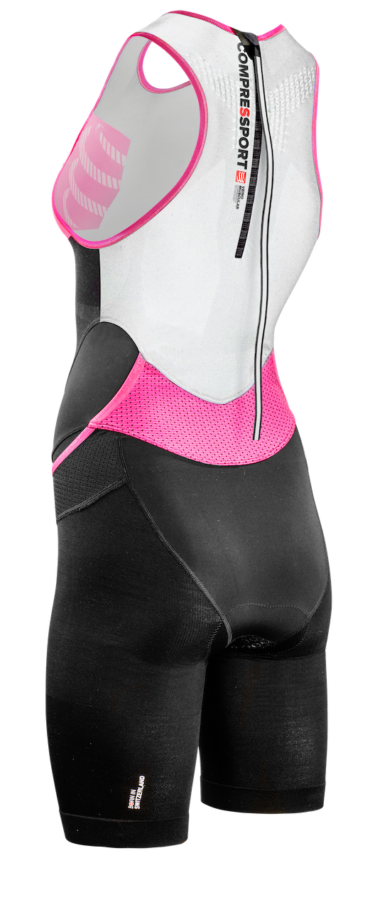 TR3 Aero Trisuit Woman Black Back