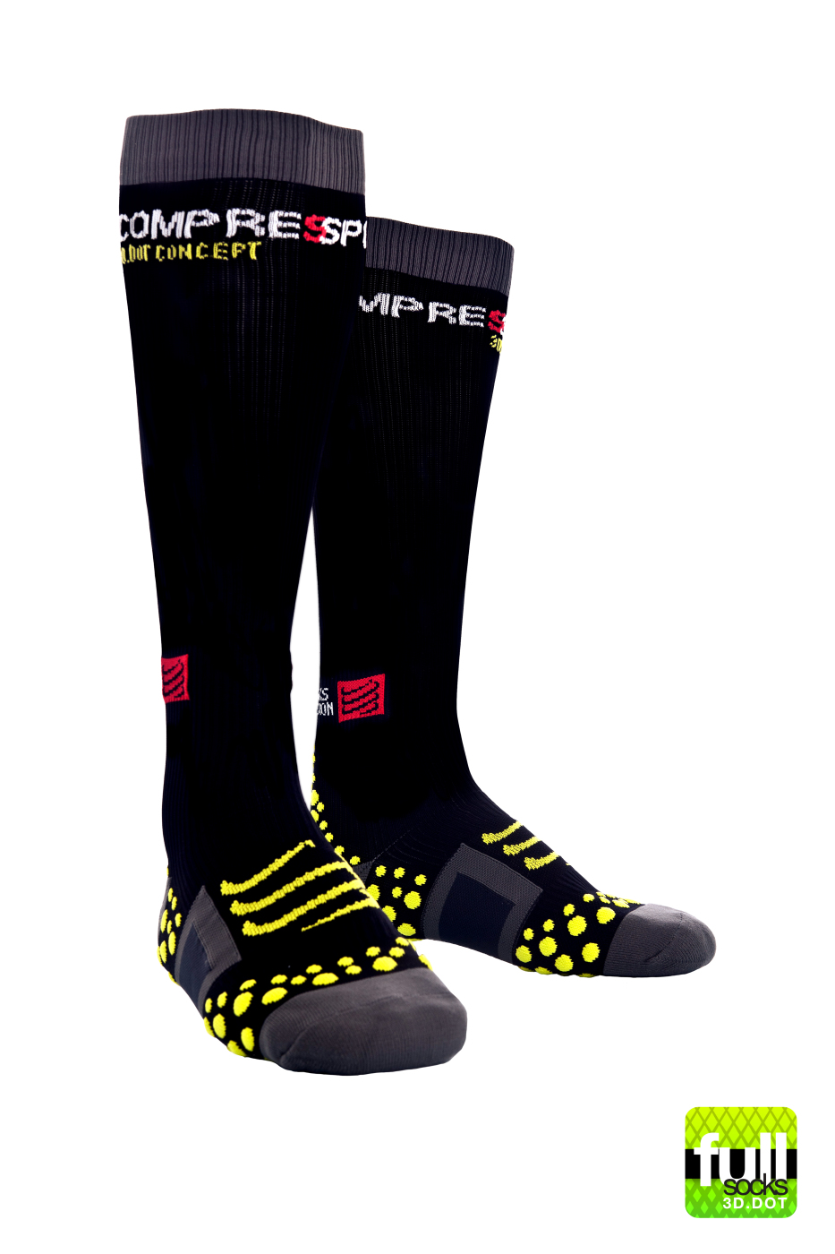 Full Socks v1 - Black (1)