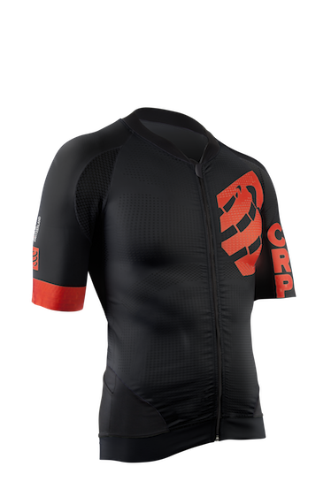 Cycling OnOff Maillot Black -  frontside