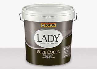 LADY Pure Color - LADY Pure Color Vit 0,68L
