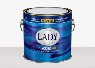 LADY Classic 40 - LADY Classic 40 Vit 0,75L
