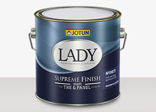 LADY Supreme Finish 15 Glans - LADY Supreme 15 Vit 0,68L