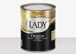 LADY Design - LADY Design Guld Bas 0,68L