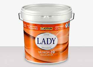 LADY Våtrum 20 - Lady Våtrum 20 Vit 0,9L