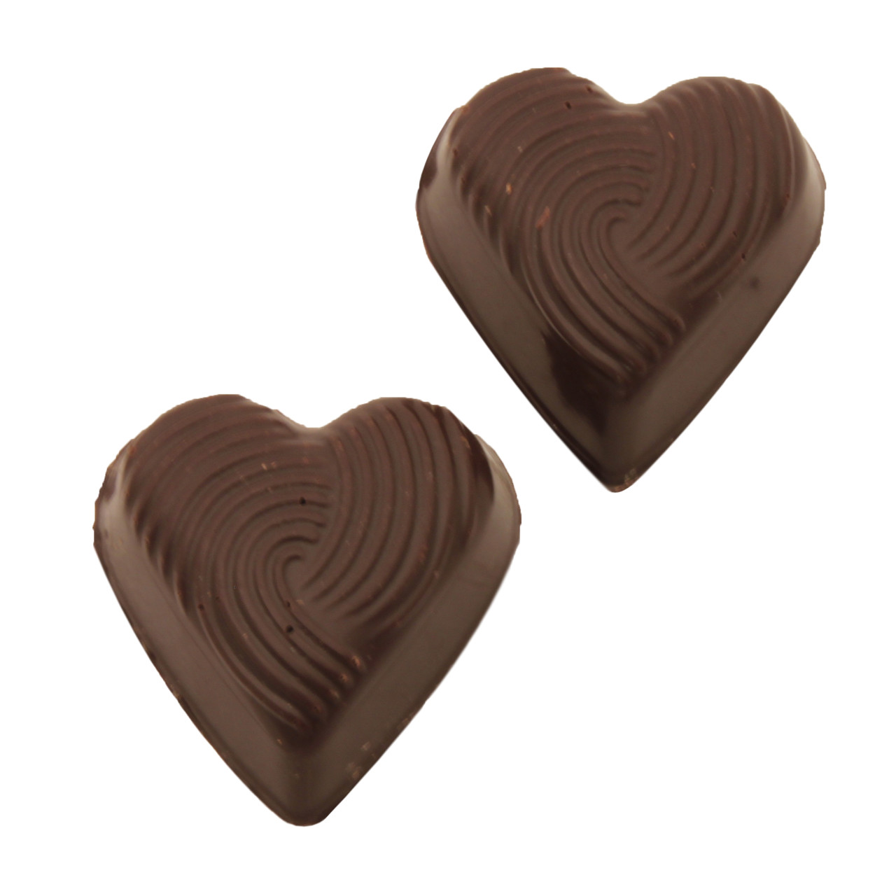 Pralinhuset - Small Hearts - Mörk Choklad
