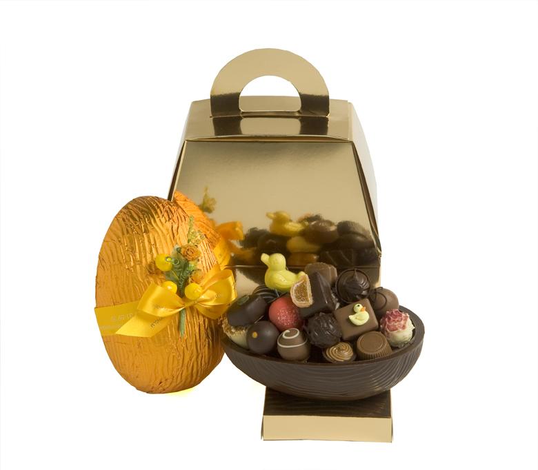 Pralinhusets Chokladägg - 500 gram