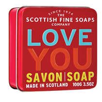 Scottish Fine Soap LOVE