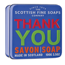 Scottish Fine Soap, THANK´S