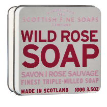 Scottish Fine Soap,  WILD ROSE