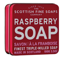 Scottish Fine Soap, RASBERRY
