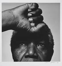 Nelson Mandela fotograferad av Hans Gedda