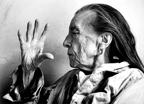 Annie Leibovitz bild av Bourgeois