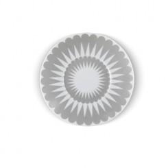 Pretty petal grå - Assiett